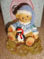 Cherished Teddies Audrey 2001 Syndicated Catalog Friend Girl Penguin #865109 Nib
