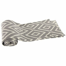 """Cotton Cashmere-Like Throw Blanket 50x60"""" Gray - T37573Gray"""