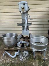 Hobart D300, 30qt Mixer, 115v with Bowl and Three Attachments