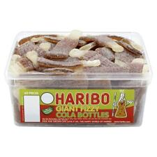 Haribo Giant FIZZY Cola Bottles Sweets - 60 in Tub - Party bag fillers favours