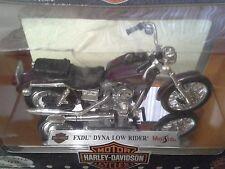 Harley Davidson Fxdl Dyna Low Rider Maisto 1/18 Diecast Motorcycle Bike Week #d