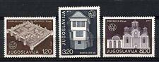 Yugoslavia 1975 SG#1713-5 Architectural Heritage MNH Set #A32936A
