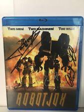 ROBOT JOX Blu-ray AUTOGRAPHED By Stuart Gordon, Talgorn, Anne-Marie Johnson +1
