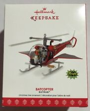 BATMAN CLASSIC TV SERIES Batcopter 2017 Hallmark Ornament Robin Christmas Tree