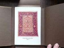 MASTERPIECES of ORIENTAL RUGS by WERNER GROTE-HASENBALG (3 Vols) 1st Ed 1922