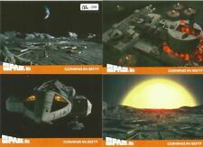 Space 1999 Series 2 Full 4 Card Preview Card Set from Unstoppable Cards