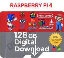 RETROPIE RASPBERRY PI4 128 GB DIGITAL IMAGE READY & WORKING