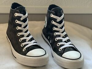 Converse Chuck Taylor All Star  High Top Women Size 6 in Black/Almost