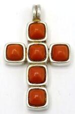 Collane e pendagli di lusso con gemme bianchi in pietra principale corallo