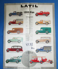 N°4392 bis  / LATIL 1200 Kgs type M1B dépliant couleur de la gamme 1934 ?