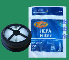 1 Dirt Devil F44 HEPA & Foam Filter 304019001 Quick Lite Power-Lite Cyclonic Vac