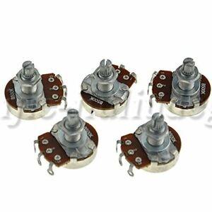 5PCS B500K Guitar Potentiometer Volume Tone Pots Long Split Shaft 18mm