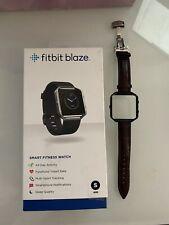 Fitbit Blaze SmartFitness Watch - Black Small