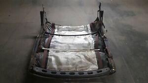 vw karmann beetle convertible cabriolet hood roof frame top 1974-79