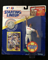 1991 STARTING LINEUP SLU MLB DAVE JUSTICE ATLANTA BRAVES EXTENDED NEW DAVID