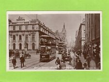 Union Street Aberdeen Tram RP pc unused Adelphi Ref D592