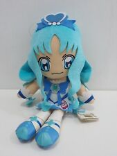 "Heartcatch Pretty Cure! Precure MARINE Banpresto 2011 DX Plush 11"" TAG 46657"