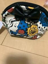 Tokyo Disneyland Snow White Poison Apple Cosmetic Pouch Accessory Bag Case TDR