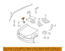 89831-0W010 Toyota Sensor, air bag, rear rh 898310W010
