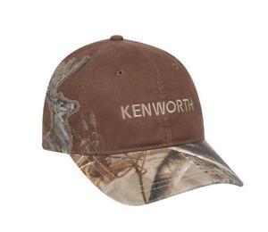 Kenworth Motors Trucks Dri-Duck Wildlife Series Buck Deer Brown Camo Hunting Cap