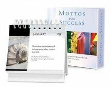 NEW Mottos for Success Vol. 4 with Bible Verses: A Daily Desktop Quotebook