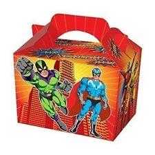 12 x Super Hero Design Lunch Boxes