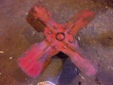 Farmall Cub tractor good working IH IHC engine motor fan blade & pulley