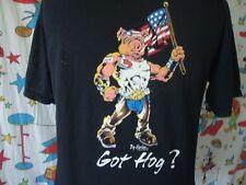 Vintage Big Narlee Got Hog Motorcycle Biker MC Pocket T Shirt Sz L