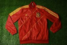 SPAIN NATIONAL TEAM 2012/2013 FOOTBALL TRACK TOP JACKET TRAINING ADIDAS SIZE M