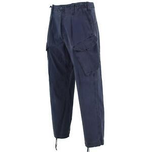 Genuine British army pants Royal Navy work trousers blue