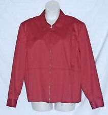 014b8c87d768b DRAPERS   DAMONS – JACKET – STRETCH COTTON – LINED – RED – SIZE 24W –