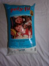 New listing 20 oz. Poly-fil stuffing polyester pillow stuffing sewing crafts fiberfil