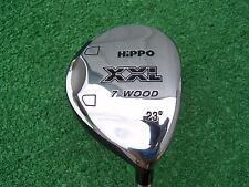 Hippo Golf XXL 7 Fairway Wood 23 Degree Metal Graphite Regular Flex Shaft NEW