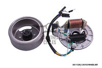 12V CDI electric flywheel assembly magneto and stator Honda Cub C50 C70 C90