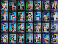 2019 Topps Heritage Purple Chrome Hot Box Baseball Cards Pick From List SP