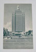 Vintage 1930s Hotel Claridge Atlantic City NJ New Jersey Postcard B&W