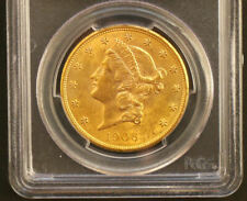 20 Dollars GOLD USA 1906-D Liberty Head PCGS MS62 sehr selten