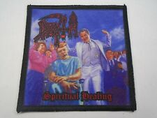 DEATH SPIRITUAL HEALING SUBLIMATED PATCH