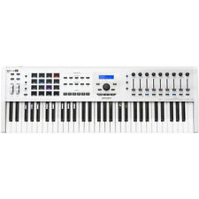 Arturia KeyLab 61 MKII Deluxe MIDI Controller Keyboard, 61 Key, White (B-STOCK)