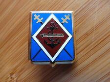 INSIGNE MILITAIRE Pucelle Armée Arthus Bertrand 1° RAMA marine croix de lorraine