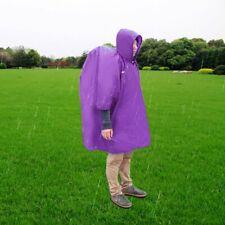 Multi-function Unisex Raincoat Backpack Raincover Poncho Picnic Ground FUL 1G
