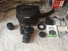 Canon EOS 600D / Rebel T3i 18.0MP Digital SLR Camera - Black (Kit w/ EF-S IS II