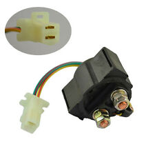 ATV Street Bike Starter Solenoid Relay Ignition Key Switch For Yamaha Raptor 80