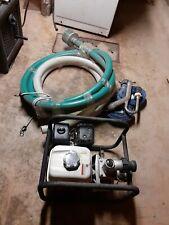 """New listing Honda gx 160 Trash Pump/Hoses gold Prospecting For Sluce Highbanker 2"""" delivery"""