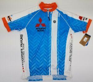 CANARI MEN'S CLASSIC CLUB S/S JERSEY MITSUBISHI MOTORS CYCLING TEAM SIZE XL USA