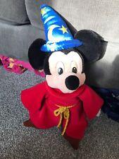 Disneyland Paris Large Sorceror Mickey Mouse Soft Plush Toy