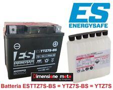 """Batteria """"ES"""" TTZ7S-BS 12V-6Ah MF Sigillata per YAMAHA YFZ 450 R dal 2009 > 2015"""