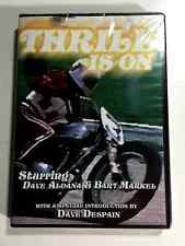 THE THRILL IS ON MOTORCYCLE DVD FROM THE 1970'S STARRING DAVID ALDANA