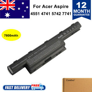 9 Cell Battery for Acer Aspire 7741 4740 4251 5741 5742 5750 5749 Laptop AS10D81