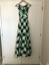 Moschino Runway Silk Apple Full Length Dress